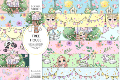 TREE HOUSE Patterns