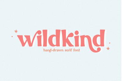 Wildkind - Hand-Drawn Serif Font