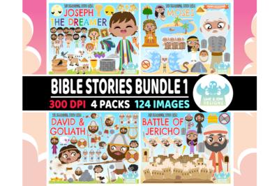 Bible Stories Clipart Bundle 1 - Lime and Kiwi Designs