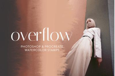 Overflow - Photoshop & Procreate Brushes
