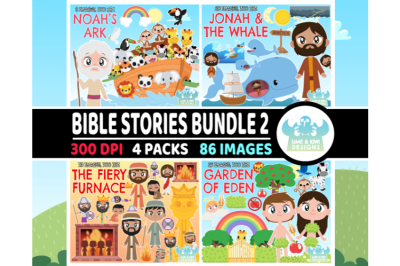 Bible Stories Clipart Bundle 2 - Lime and Kiwi Designs