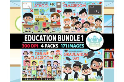 Education Clipart Bundle 1 - Lime and Kiwi Designs