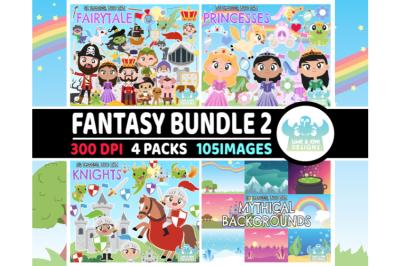Fantasy Clipart Bundle 2 - Lime and Kiwi Designs