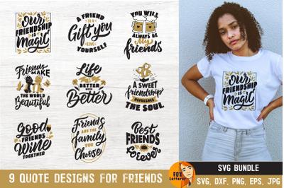 Friendship SVG Bundle. Cards