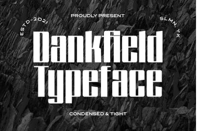 Dankfield - Modern Condensed Font