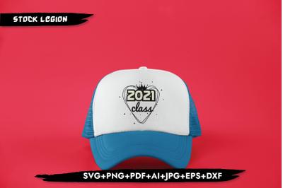 2021 Class Heart SVG