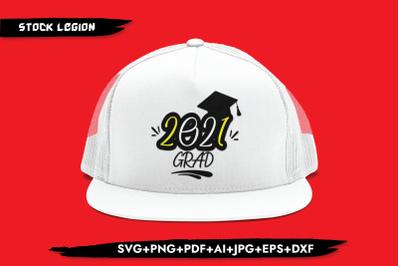 2021 Grad Cap SVG