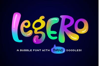 Legero Font + Doodles