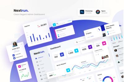 Nextrun - Clean and Elegant Admin