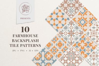 Farmhouse Backsplash Tile Patterns