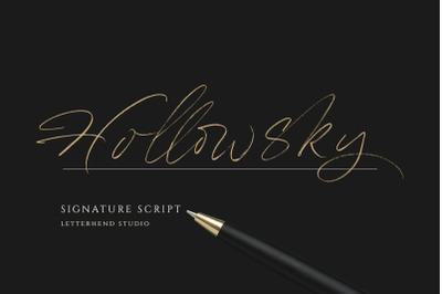 Hollowsky - Signature Script