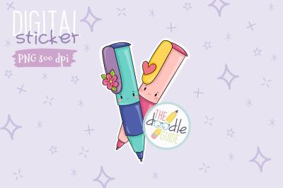 Pen Sticker