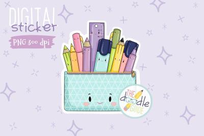 Pencil Case Sticker