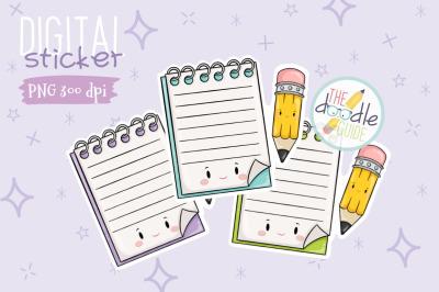 Notepad Sticker