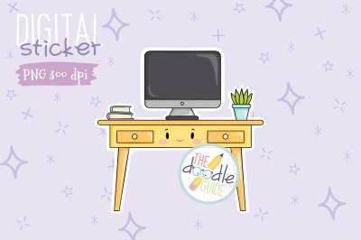 Desk Sticker