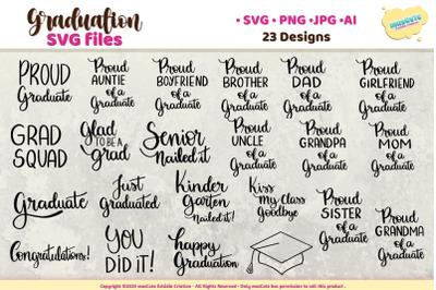Graduation SVG Bundle, Graduate Sublimation Bundle