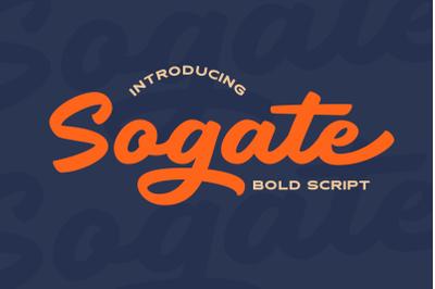 Sogate - Bold Script
