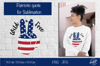 Patriotic quotes png, Patriotic Sublimation, 4th of July,