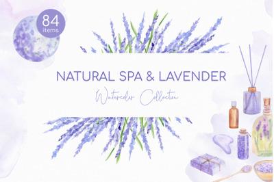 Natural Spa & Lavender Cosmetics PNG