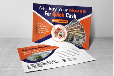 Real Estate Investors Postcard