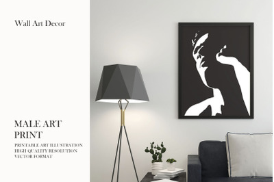 Male Art Print