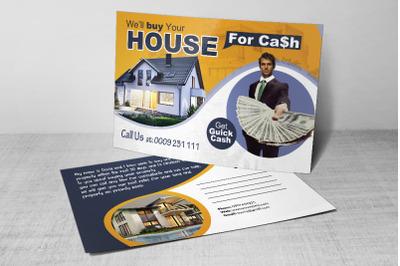 Investors of Real Estate Postcard