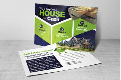 Real Estate Postcard For Investors