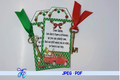 Santa's Magic Key Printable #15