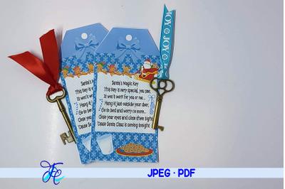 Santa's Magic Key Printable #16