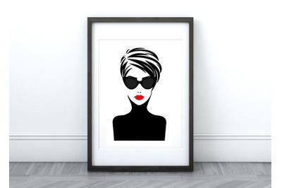 Joan - Printable Wall Art/Graphic