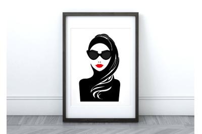 Ursula - Printable Wall Art/Graphic
