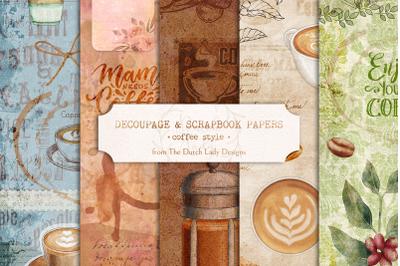Digital Decoupage & Scrapbook Sheets Set 5