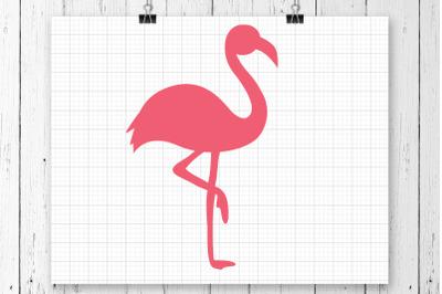 Flamingo SVG Clipart Printable