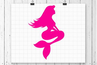 Mermaid SVG Clipart Printable