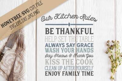 Kitchen Rules svg