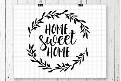 Home Sweet Home SVG Printable