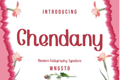 Chendany - Modern Calligraphy