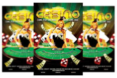 Casino Flyer Template #3