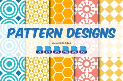 Seamless Patterns - 5 Designs