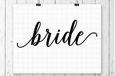Bride Groom SVG Printable