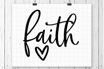 Faith SVG Printable