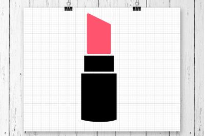 Lipstick SVG Clipart Printable