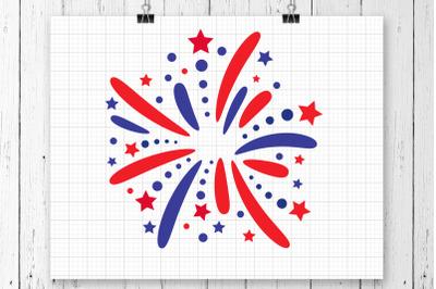 Fireworks SVG Clipart Printable