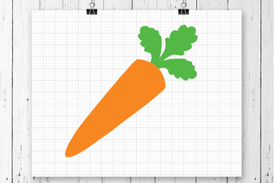 Carrot SVG Clipart Printable