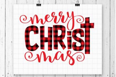 Merry Christ Mas SVG Printable