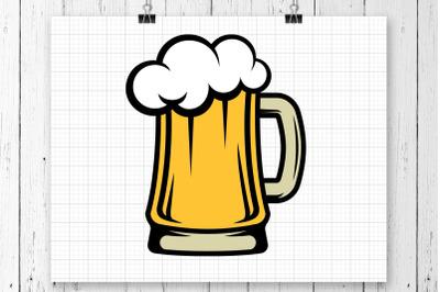 Beer Mug SVG Clipart Printable