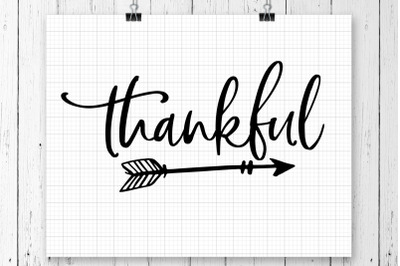 Thankful SVG Printable