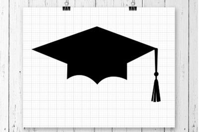 Graduation Hat SVG Clipart Printable