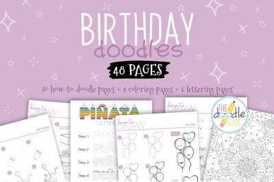 Birthday Doodle Booklet