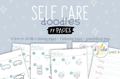 Self Care Doodle Booklet